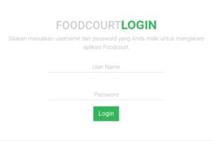 Aplikasi Foodcourt